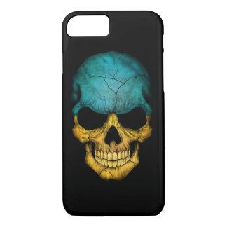 Ukrainian Flag Skull on Black iPhone 7 Case