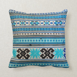 Ukrainian Folk Design double-sided Throw Pillow