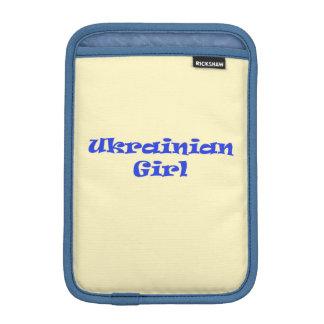 Ukrainian Girl iPad Mini Sleeves