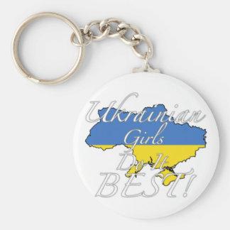 Ukrainian Girls Do It Best! Keychain