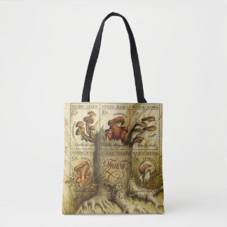 Ukrainian Hryby (Mushrooms) Jumbo Tote Bag