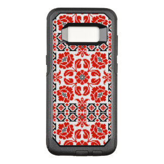 Ukrainian Poppy Embroidery Otterbox Tough Case