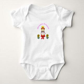 Ukrainian Princess Baby Baby Bodysuit