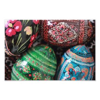 Ukrainian pysanky - easter eggs photo art