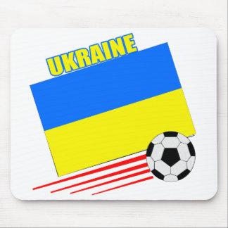 Ukrainian Soccer Team Mouse Pads