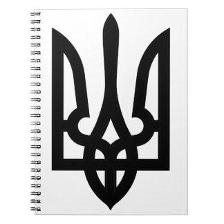 Ukrainian Tryzub Notebook
