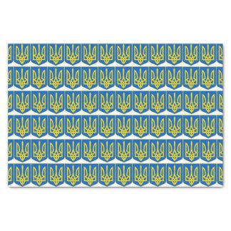 Ukrainian Tryzub Tissue Paper