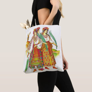 Ukrainian Women in Kyivan Dress Tote Bag