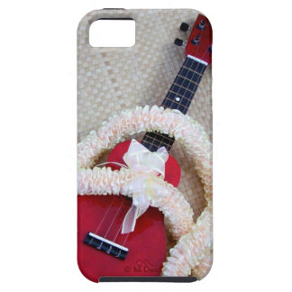 Ukulele and Satin Lei iPhone 5 Cases