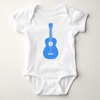 Ukulele - Baby Blue Baby Bodysuit