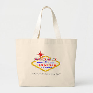Ukulele Club of Las Vegas large tote