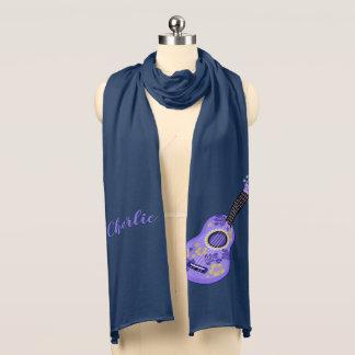 Ukulele custom name scarf