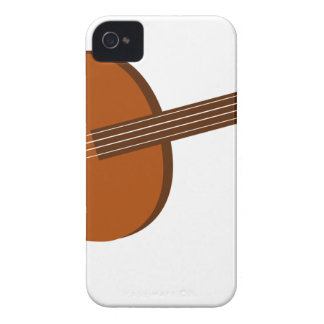 Ukulele Drawing iPhone 4 Case-Mate Cases