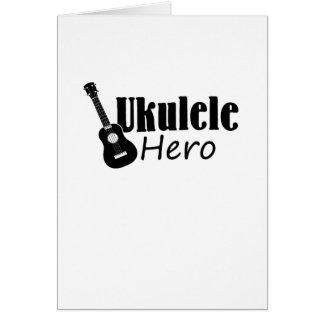 Ukulele Hero Ukulele Uke Music Lover Gifts Player Card