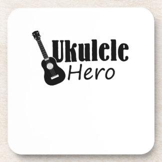Ukulele Hero Ukulele Uke Music Lover Gifts Player Coaster