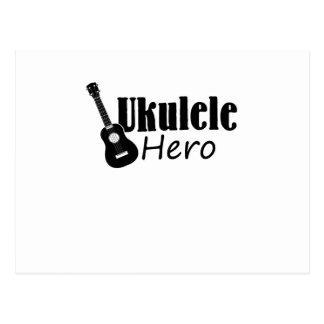 Ukulele Hero Ukulele Uke Music Lover Gifts Player Postcard