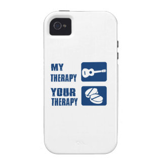 ukulele is my therapy iPhone 4/4S case