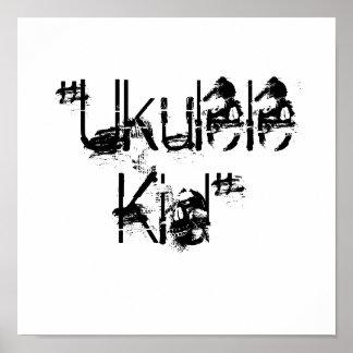 """""""Ukulele Kid"""" Poster"""