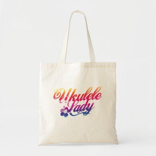 Ukulele Lady Tote Bag
