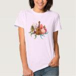 Ukulele Land & Sea T Shirts