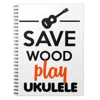 Ukulele Musical Instrument - Save Wood play ukulel Note Books