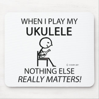 Ukulele Nothing Else Matters Mouse Pad