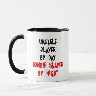 Ukulele Player Zombie Joke Mug
