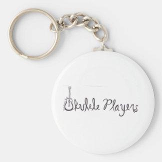 Ukulele Players Keychain