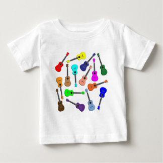 Ukulele Rainbow Baby T-Shirt