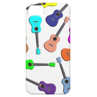 Ukulele Rainbow iPhone 5 Cases