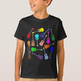 Ukulele Rainbow T-Shirt