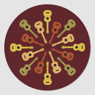 Ukulele stickers