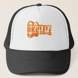 ukulele trucker hat