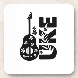 Ukulele Uke Music Lover Gift Funny Coaster