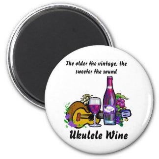 Ukulele Wine Fridge Magnets