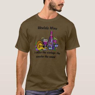 Ukulele Wine T-Shirt