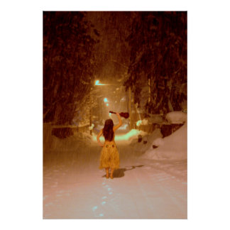 Ukulele winter poster