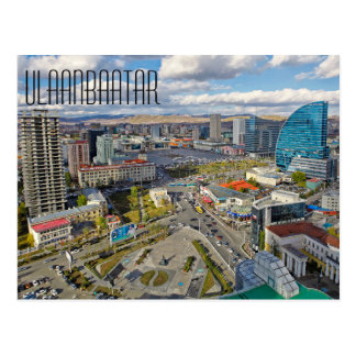Ulaanbaatar Postcard