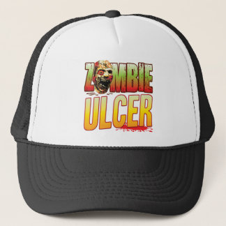 Ulcer Zombie Head Trucker Hat