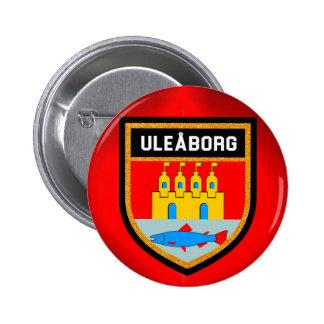 Uleåborg Flag 2 Inch Round Button