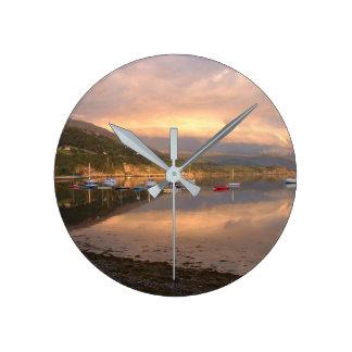 Ullapool Medium Round Wall Clock