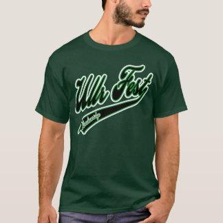 Ullr Fest Baseball Logo Green T-Shirt