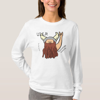 Ullr Fest funny ladies viking rock on hoodie