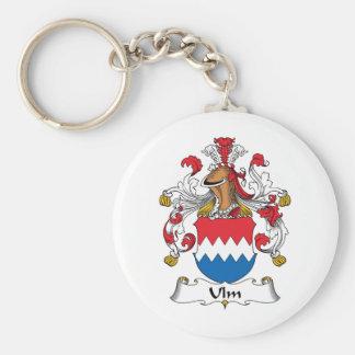 Ulm Family Crest Basic Round Button Keychain