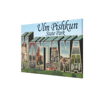 Ulm Pishkun State Park, Montana Canvas Print