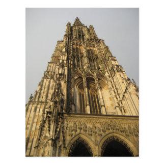 Ulmer Münster church in Ulm,  Germany Postcard
