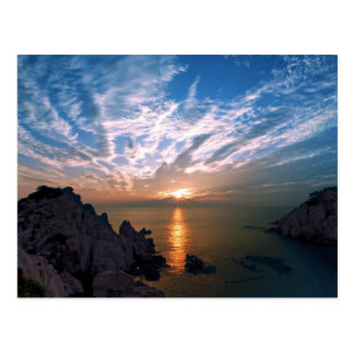 Ulsan, South Korea Sunrise Postcard