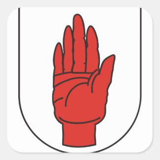 Ulster, Ireland Square Sticker