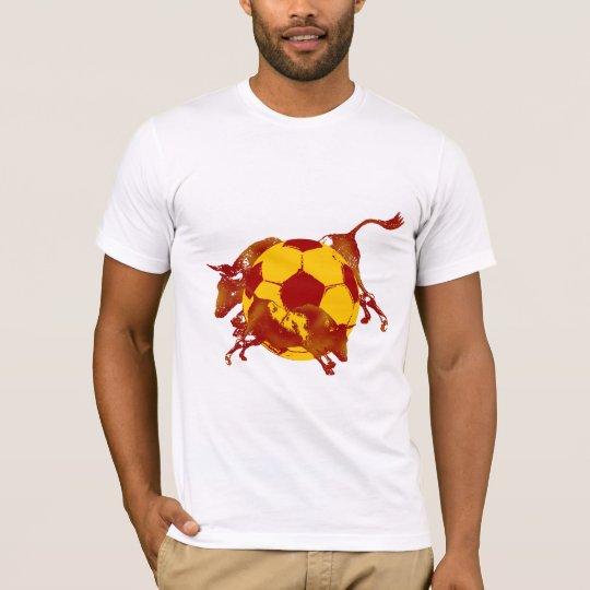 Ulta hot Spanish Running of the bulls soccer gifts T-Shirt