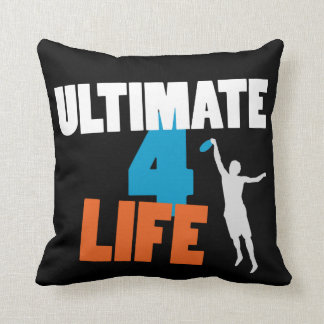 Ultimate 4 Life (dark) Pillow